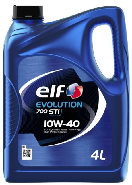 Моторное масло ELF Evolution 700 STI 10W-40 полусинтетическое 4 л