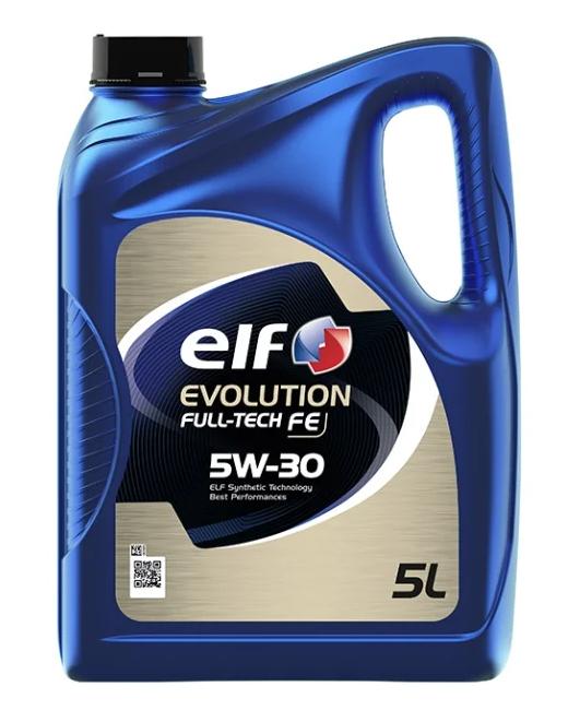 Моторное масло ELF Evolution Full-Tech FE 5W-30 синтетическое 5 л
