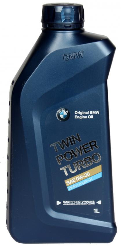 Моторное масло BMW TwinPower Turbo Longlife-04 0W-30 синтетическое  1 л