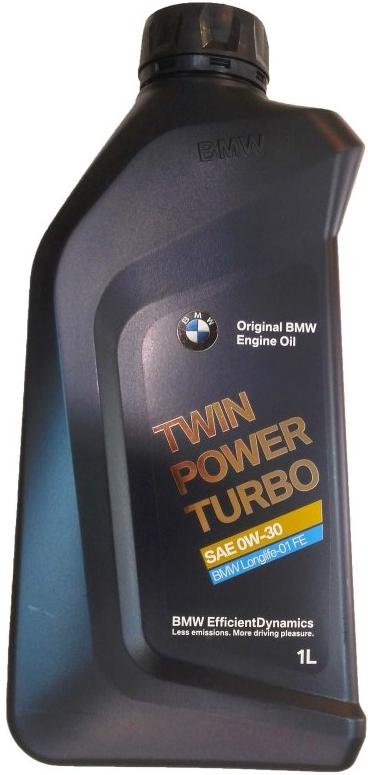 Моторное масло BMW TwinPower Turbo Longlife-01 FE 0W-30 синтетическое 1 л
