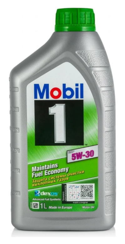 Моторное масло MOBIL 1 ESP 5W-30 синтетическое1 л