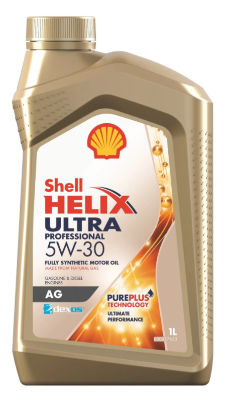 Моторное масло SHELL Helix Ultra Professional AG 5W-30 синтетическое 1 л