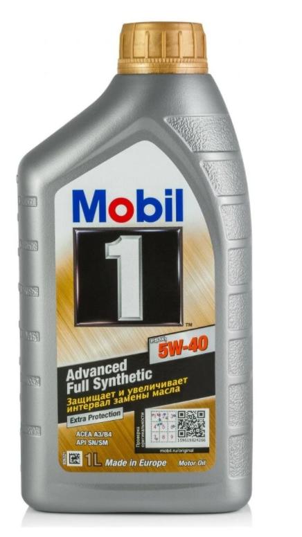 Моторное масло MOBIL 1 FS X1 5W-40 синтетическое 1 л