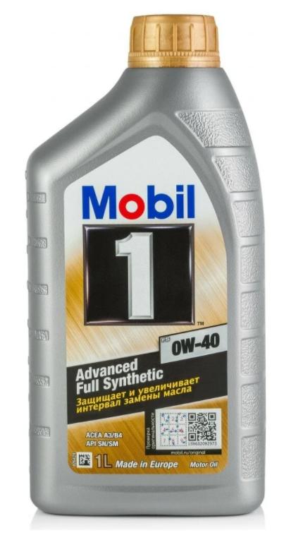 Моторное масло MOBIL 1 FS 0W-40 синтетическое 1 л