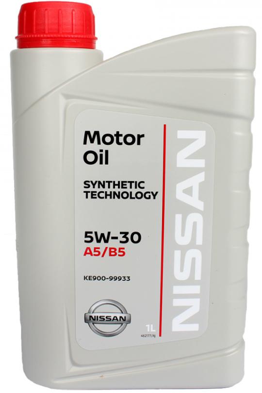 Моторное масло Nissan 5W-30 FS A5/B5 синтетическое 1 л