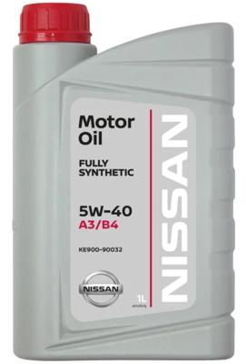 Моторное масло Nissan 5W-40 FS A3/B4 синтетическое 1 л