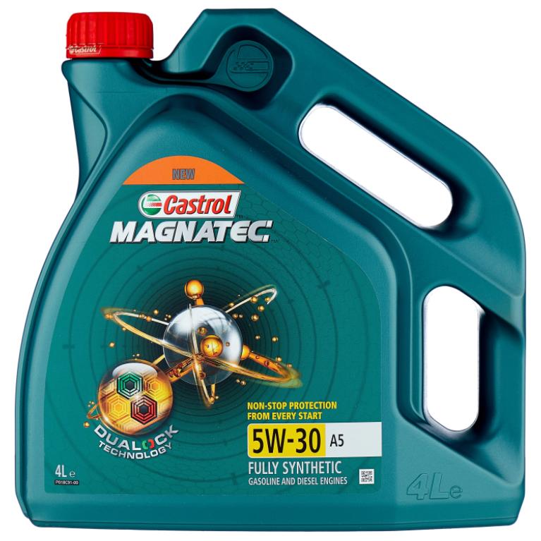 Моторное масло Castrol Magnatec 5W-30 A5 DUALOCK синтетическое 4 л