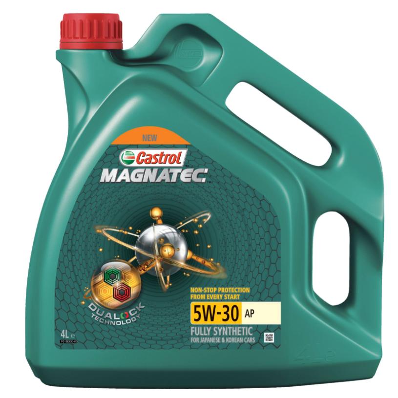 Моторное масло Castrol Magnatec 5W-30 AP DUALOCK синтетическое 4 л