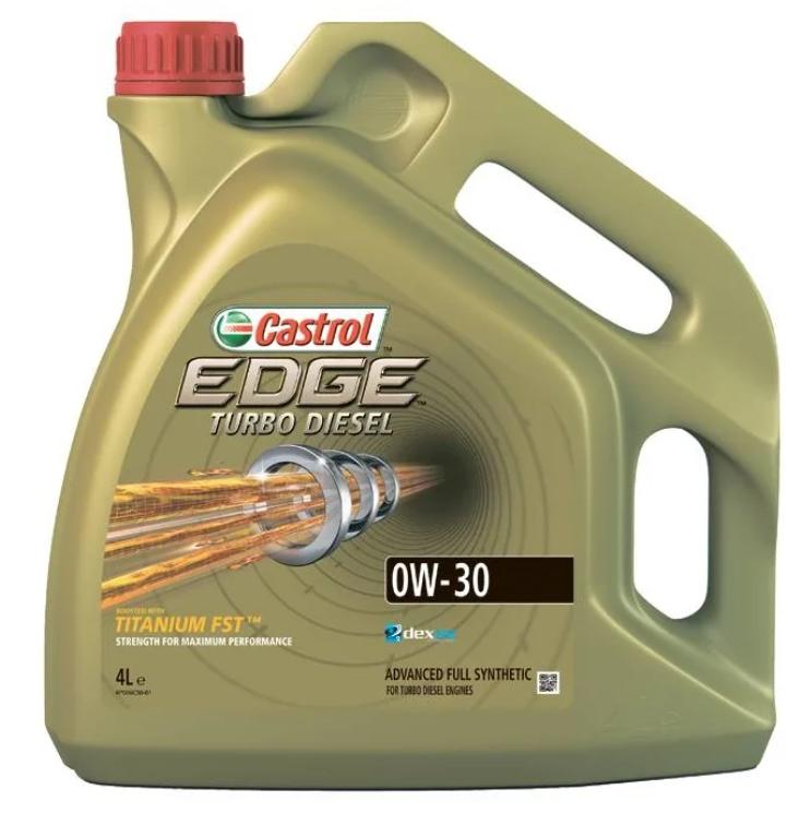 Моторное масло Castrol Edge Turbo Diesel 0W-30 синтетическое 4 л