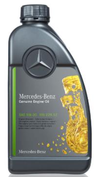 Моторное масло Mercedes-Benz MB 229.52 5W-30 синтетическое 1 л