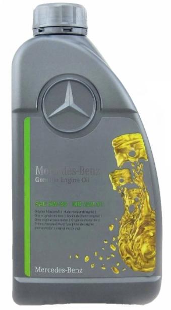 Моторное масло Mercedes-Benz MB 229.51 5W-30 синтетическое 1 л