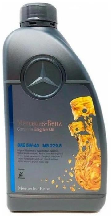 Моторное масло Mercedes-Benz MB 229.5 5W-40 синтетическое 1 л