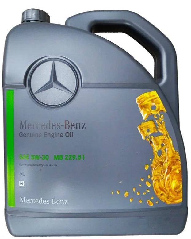 Синтетическое моторное масло Mercedes-Benz MB 229.51 5W-30 5 л