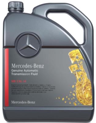 Трансмиссионное масло Mercedes-Benz MB 236.14 5 л