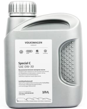 Моторное масло VOLKSWAGEN Special C 0W-30 синтетическое 1 л