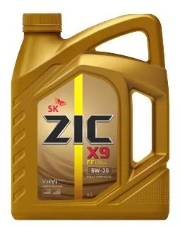 Моторное масло ZIC X9 FE 5W-30 синтетическое 4 л