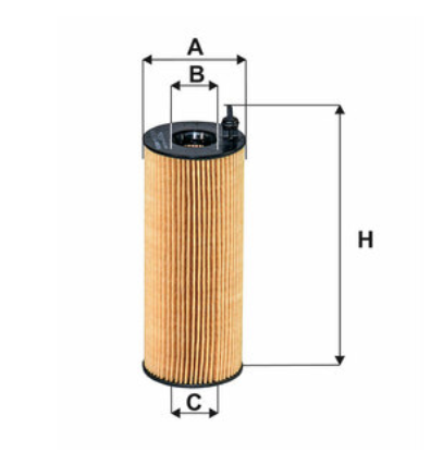 Фильтр масляный FILTRON OE672/2A