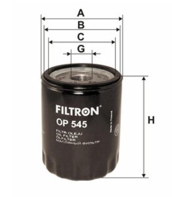 Фильтр масляный FILTRON OP545