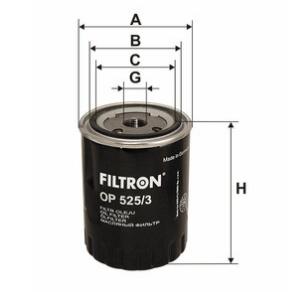 Фильтр масляный FILTRON OP525/3