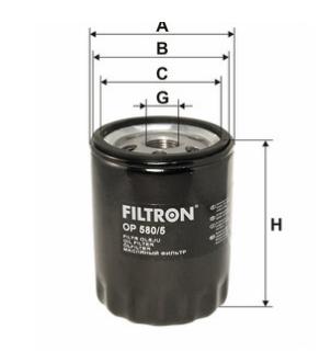 Фильтр масляный FILTRON OP580/5