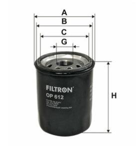 Фильтр масляный FILTRON OP612
