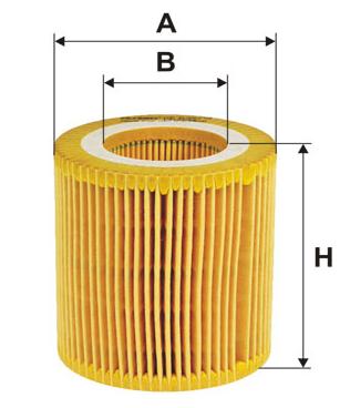 Фильтр масляный BMW 1 (F20/F21), 2 (F22), 3 (F30/F31), 3 GT (F34), FILTRON OE649/10