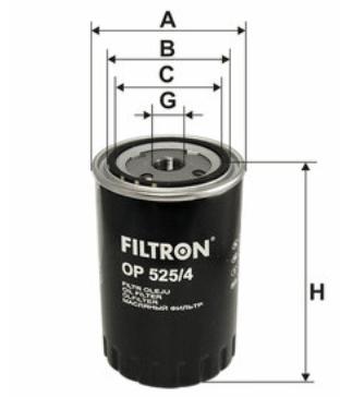 Фильтр масляный FILTRON OP525/4