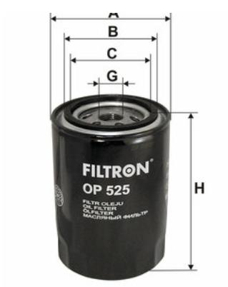 Фильтр масляный FILTRON OP525