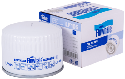 Фильтр масляный ВАЗ 2108-15 FINWHALE LF 105М