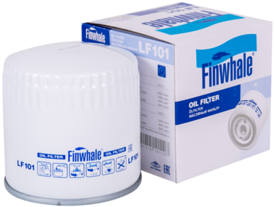 Фильтр масляный ВАЗ 2101-07 FINWHALE LF 101М LF101