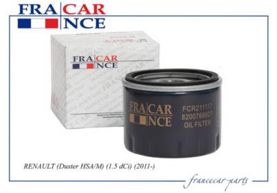 Фильтр масляный FRANCECAR FCR211117