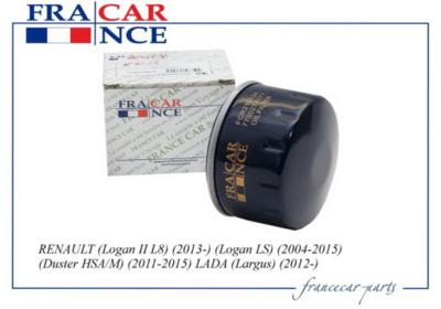 Фильтр масляный FRANCE CAR FCR210134 FRANCECAR FCR210134