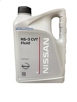 Трансмиссионное масло Nissan NS-3 CVT Fluid 5 л