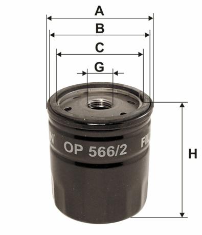 Фильтр масляный FILTRON OP566/2