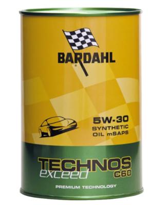 Масло моторное Bardahl С60 TECHNOS EXCEED 5W-30 синтетическое 1 л
