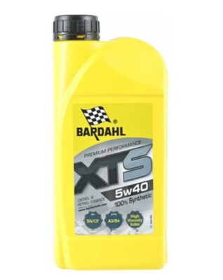 Масло моторное Bardahl XTS 5W-40 синтетическое 1 л