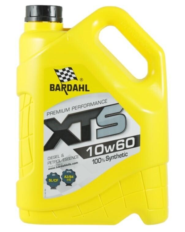 Масло моторное Bardahl XTS 10W-60 синтетическое 5 л