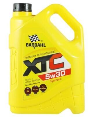Масло моторное Bardahl XTC 5W-30 синтетическое 5 л