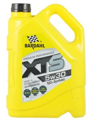 Масло моторное Bardahl XTS 5W-30 синтетическое 5 л