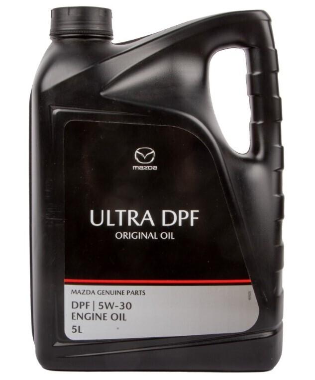 Моторное масло MAZDA ORIGINAL OIL ULTRA DPF 5W-30 синтетическое 5 л