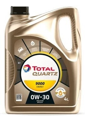 Моторное масло TOTAL Quartz 9000 Energy 0W-30 синтетическое 4 л