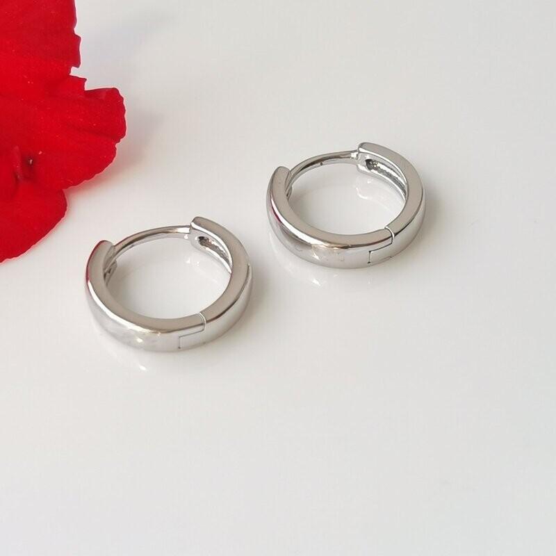 Маленькие серьги кольца