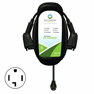 EV40DP Dual Plug-in EV Charger