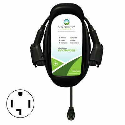 EV50DP Dual Plug-in EV Charger