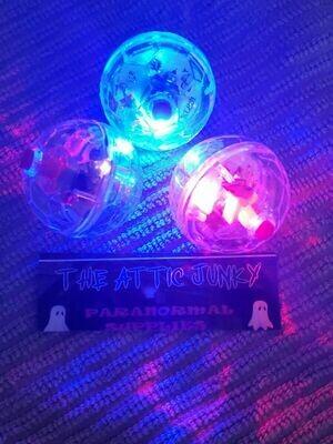 Trigger Object 4x Pcs Motion Light Up Flashing Balls Ghost Paranormal Equipment