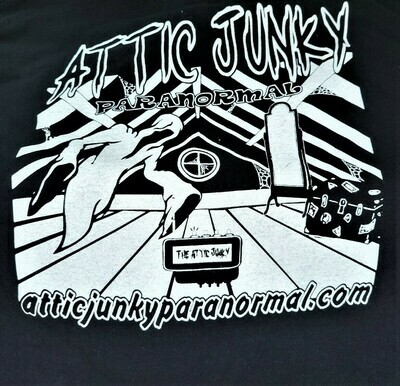 Attic Junky Paranormal T-Shirts By B.C Designs Unisex