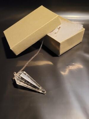 Crystal Pendulum-Dowsing, Healing & Paranormal Communication