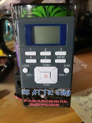 AJP Hacked Spirit Box Radio Sweep 600-1700MHZ