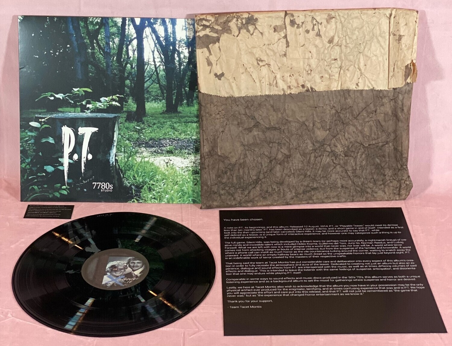 P.T. (Playable Teaser for Silent Hills) ST - LP, VERY RARE!
