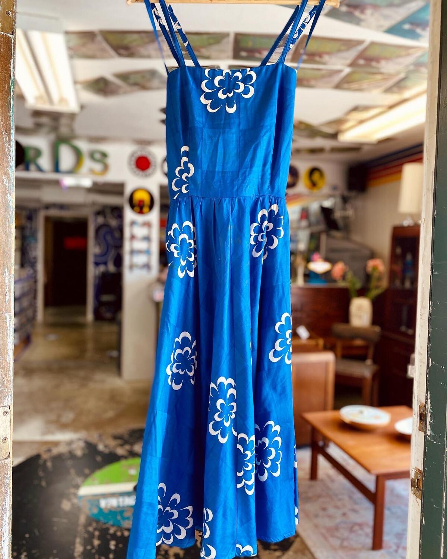 Vintage Malia Honolulu Floral Dress